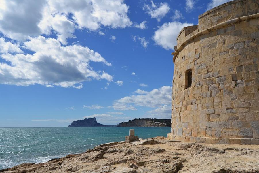 Spend your winter in Moraira, Spain: Is Moraira good snowbird location? 1