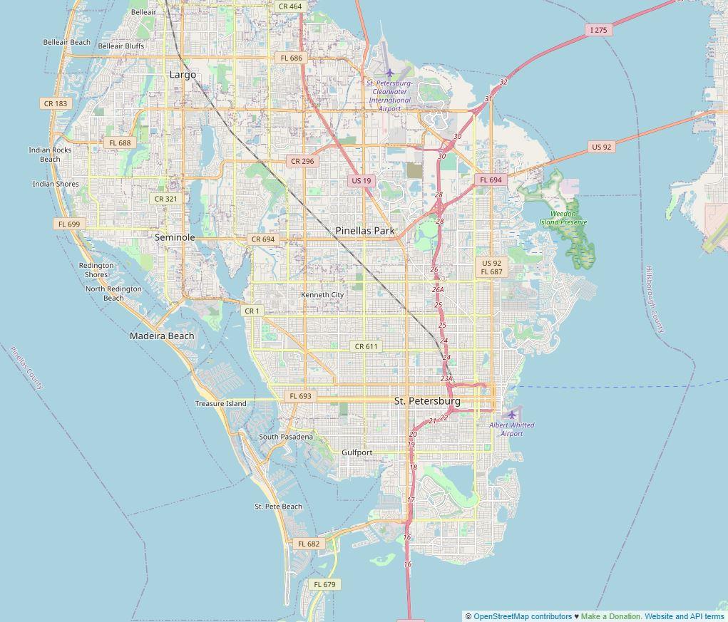 Spend your winter in St. Petersburg, Florida: Is St. Petersburg Beach a good snowbird location? 1
