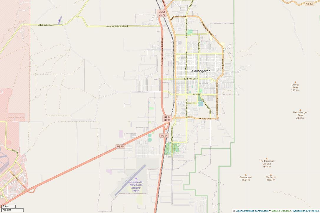 Spend your winter in Alamogordo - New Mexico - Is Alamogordo a good snowbird location 3